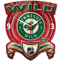 Picture of MINNESOTA WILD HIGH DEF PLAQUE CLOCK
