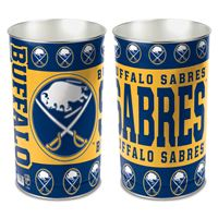 "Picture of Buffalo Sabres Wastebasket - tapered 15""H"