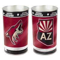 "Picture of Arizona Coyotes Wastebasket - tapered 15""H"