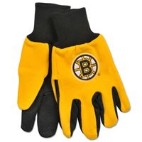 Picture of Boston Bruins Adult Two Tone Gloves