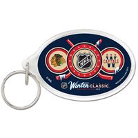 Picture of Acrylic Key Ring Carded Oval