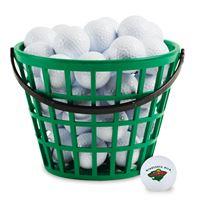 Picture of Minnesota Wild Bucket of 36 Golf Balls