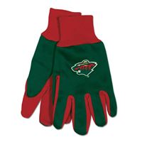 Picture of Minnesota Wild Adult Two Tone Gloves