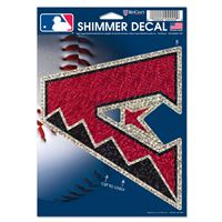 "Picture of Arizona Diamondbacks Shimmer Decals 5"" x 7"""