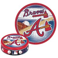 Picture of Atlanta Braves Puzzle tin