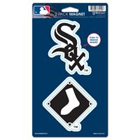 "Picture of Chicago White Sox 2 Pack Magnets 5"" x 9"""