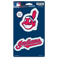 "Picture of Cleveland Indians 2 Pack Magnets 5"" x 9"""