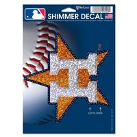 "Picture of Houston Astros Shimmer Decals 5"" x 7"""