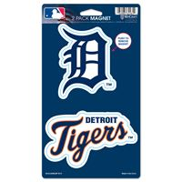 "Picture of Detroit Tigers 2 Pack Magnets 5"" x 9"""