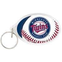 Picture of Minnesota Twins Acrylic Key Ring Oval