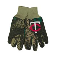 Picture of Minnesota Twins Adult Two Tone Gloves