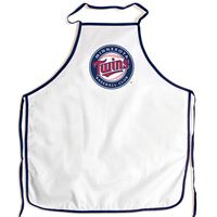 Picture of Minnesota Twins Barbeque Aprons - white