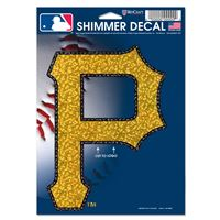 "Picture of Pittsburgh Pirates Shimmer Decals 5"" x 7"""