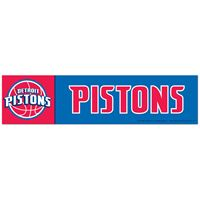 "Picture of Detroit Pistons Bumper Strip 3"" x 12"""