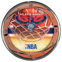 Picture of Atlanta Hawks Chrome Clock