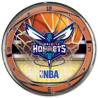 Picture of Charlotte Hornets Chrome Clock