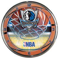 Picture of Dallas Mavericks Chrome Clock