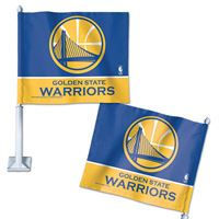 "Picture of Golden State Warriors Car Flag 1175"" x 14"""