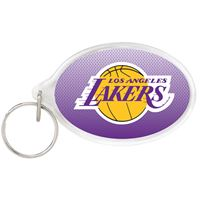 Picture of Los Angeles Lakers Acrylic Key Ring Carded Oval
