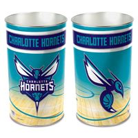 "Picture of Charlotte Hornets Wastebasket - tapered 15""H"