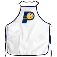 Picture of Indiana Pacers Barbeque Aprons - white