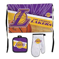 Picture of Los Angeles Lakers Barbeque Tailgate Set-Premium