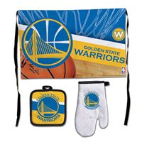 Picture of Golden State Warriors Barbeque Tailgate Set-Premium