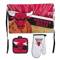 Picture of Chicago Bulls Barbeque Tailgate Set-Premium