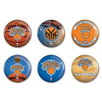 """Picture of New York Knicks Button 6 Pack 2"""" Round"""