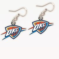Picture of Oklahoma City Thunder Earrings Jewelry Card