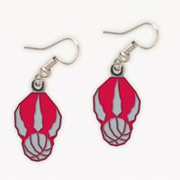 Picture of Toronto Raptors Earrings Clamshell