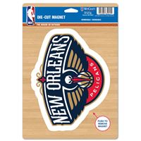 """Picture of New Orleans Pelicans Die Cut Logo Magnet 625"""" x 9"""""""
