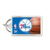 Picture of Philadelphia 76ers Acrylic Key Ring Rectangle