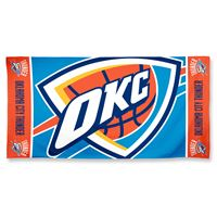 "Picture of Oklahoma City Thunder Colossal Beach Towel 19lb 40"" x 70"""