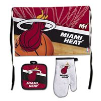 Picture of Miami Heat Barbeque Tailgate Set-Premium