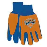 Picture of New York Knicks Adult Two Tone Gloves