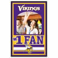 Picture of Minnesota Vikings Mirror Wood Sign