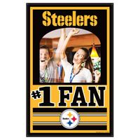 Picture of Pittsburgh Steelers Mirror Wood Sign