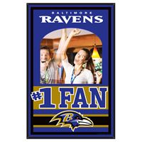 Picture of Baltimore Ravens Mirror Wood Sign