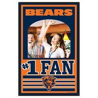 Picture of Chicago Bears Mirror Wood Sign