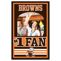 Picture of Cleveland Browns Mirror Wood Sign