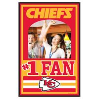 Picture of Kansas City Chiefs Mirror Wood Sign