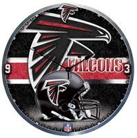 """Picture of Atlanta Falcons Plaque HD Clock 18"""" Dia"""
