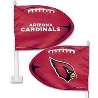 Picture of Arizona Cardinals Shaped Car Flag