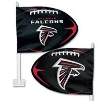Picture of Atlanta Falcons Shaped Car Flag