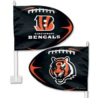 Picture of Cincinnati Bengals Shaped Car Flag