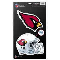 "Picture of Arizona Cardinals 2 Pack Magnets 5"" x 9"""