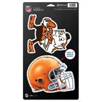 "Picture of Cleveland Browns 2 Pack Magnets 5"" x 9"""