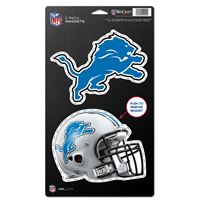 "Picture of Detroit Lions 2 Pack Magnets 5"" x 9"""