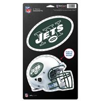 "Picture of New York Jets 2 Pack Magnets 5"" x 9"""
